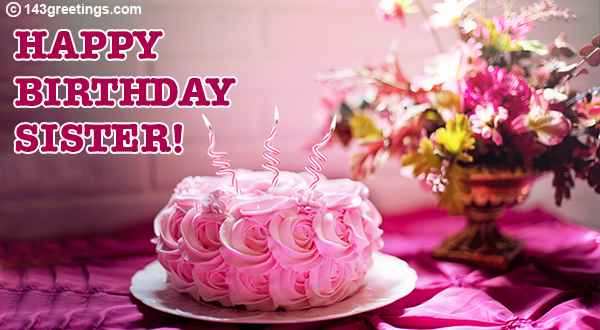 Birthday Wishes For Sister Quotes Messages