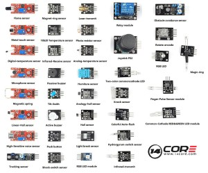 Wiring the 14CORE 37 Sensors for Arduino & Raspberry Pi