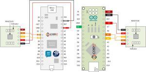 Wiring Xtrinsic MAG3110 3AXIS Digital Magometer on