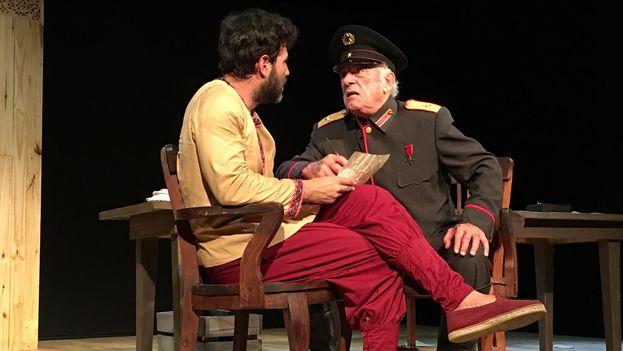 'Cartas de amor a Stalin', de Juan Mayorga, se representa en el Argos Teatro de La Habana. (14ymedio)