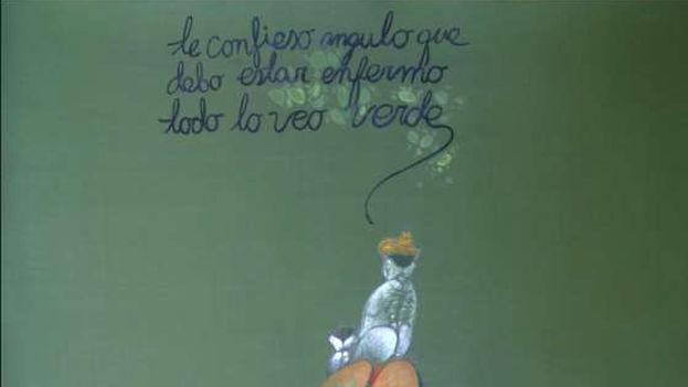 Fragmento de 'Las extrañas divagaciones de Utopito', de la exposición de Pedro Pablo Oliva, Utopías y disidencias