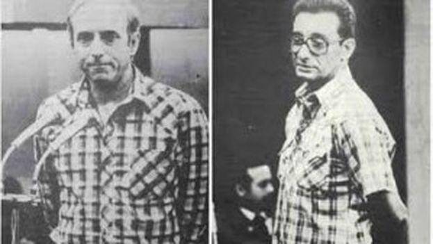 Antonio de la Guardia y Arnaldo Ochoa durante el juicio por narcotráfico en 1988. (CodigoAbierto)