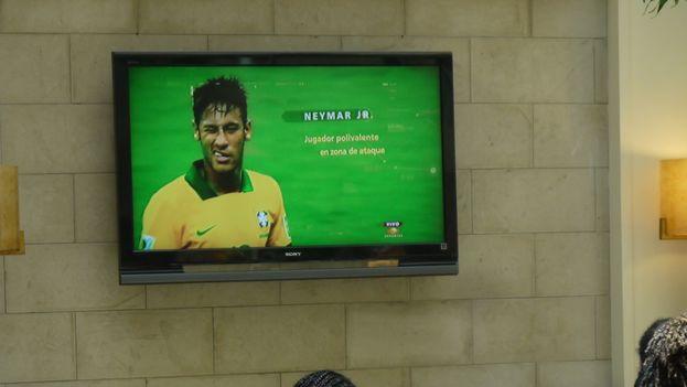 Un partido de fútbol de la Copa del Mundo Brasil 2014. (14ymedio)