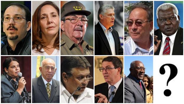 '14ymedio' desea conocer la opinión de nuestros lectores sobre las once figuras que podrían desempeñar el papel de presidente según la actual situación del país. (14ymedio, EFE)