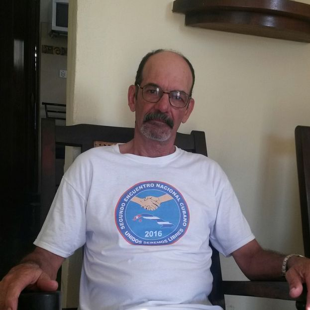 El opositor Leonardo Rodríguez, padre de Dalila Rodríguez. (Cortesía)