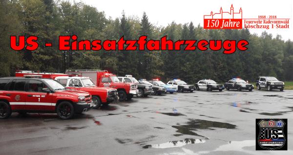 US – Einsatzfahrzeuge in Radevormwald
