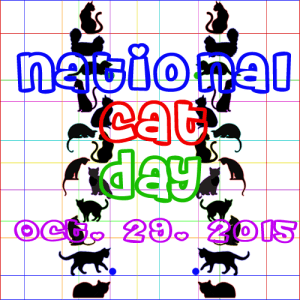 NationalCatDay 10.29.2015