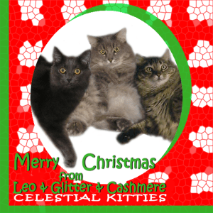 Celestial Kitties 2015 Holiday ECard