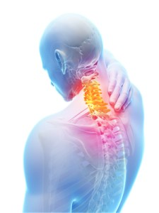 upper back pain cause - spine tension