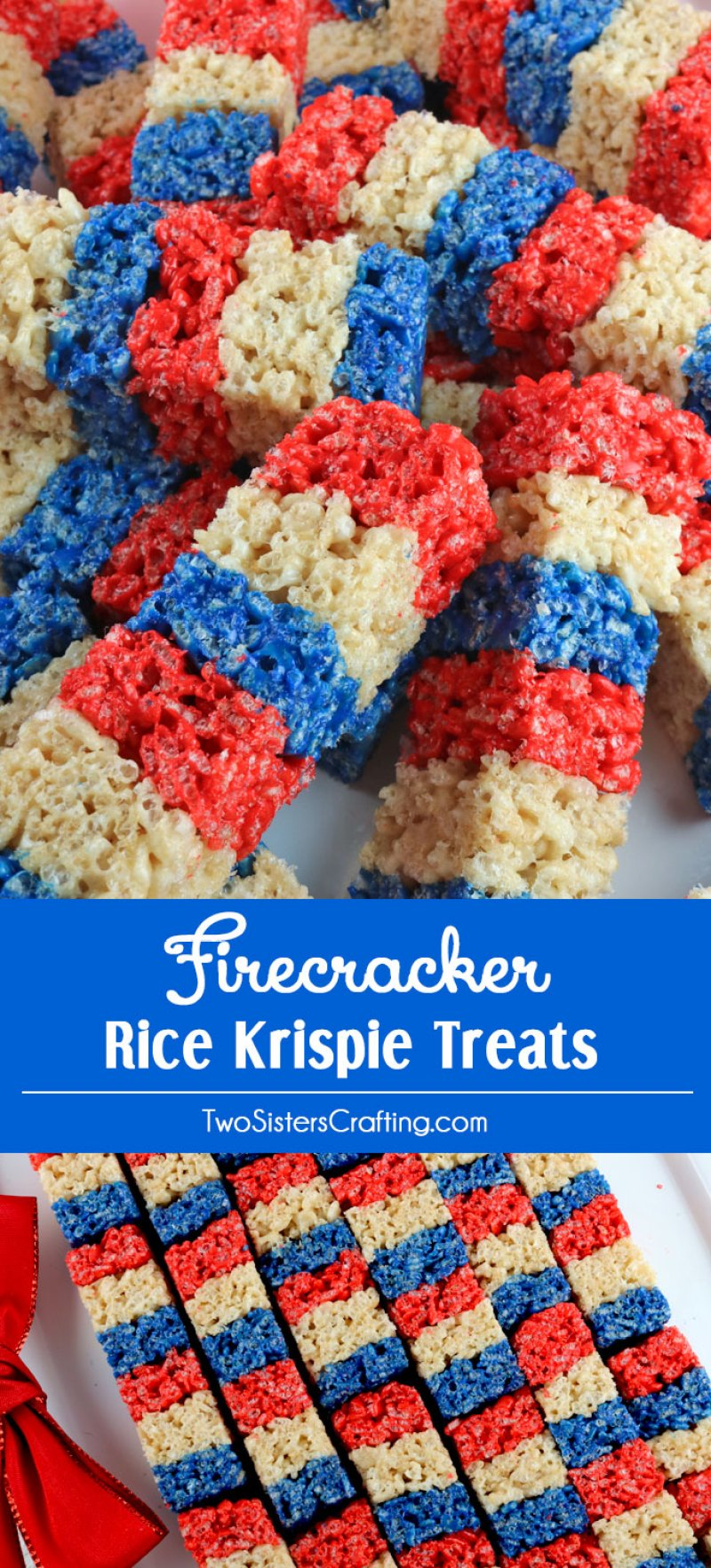 We've found 15 of the Best 4th of July Rice Krispie Treats.  Your friends and family at your Fourth of July party or summer family BBQ will love these Red White and Blue treats! These 15 yummy Patriotic Desserts are all amazing and gorgeous 4th of July treats.  Pin these easy to make Independence Day Rice Krispie Treats for later and follow us for more 4th of July Food Ideas.