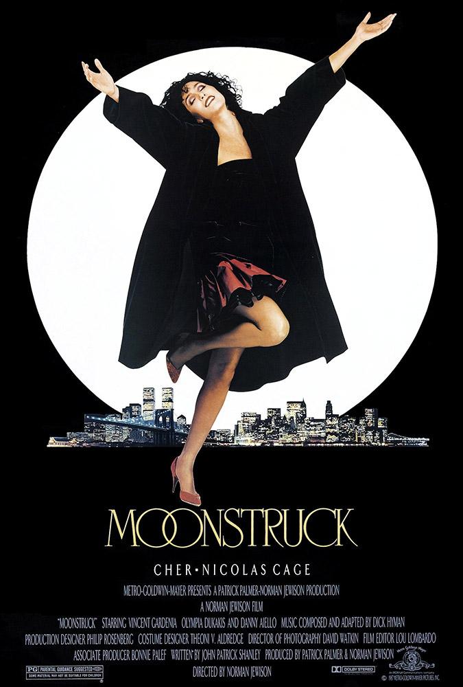 Fig. 1-3: Romantik, spænding og gys – mørket kan det hele. Fra Moonstruck, Manhunter og The Blair Witch Project.