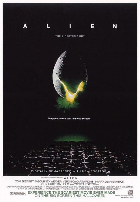 Fig. 1: Plakaten til den oprindelige Alien-film fra 1979.