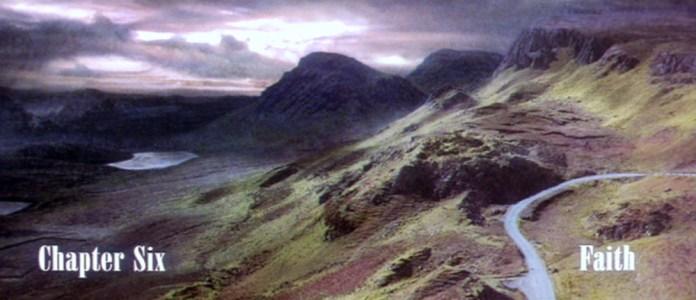 Fig. 5: Et storslået, men livløst landskab.