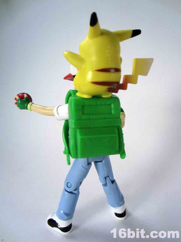 Figure Of The Day Review Hasbro Pokemon Ash Amp Pikachu Action Figure