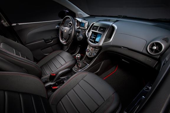 Chevrolet Sonic o Aveo RS