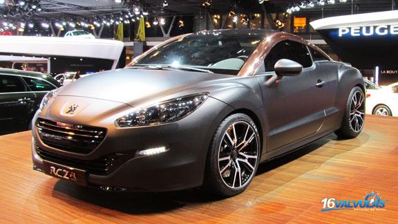 Nuevo Peugeot RCZ