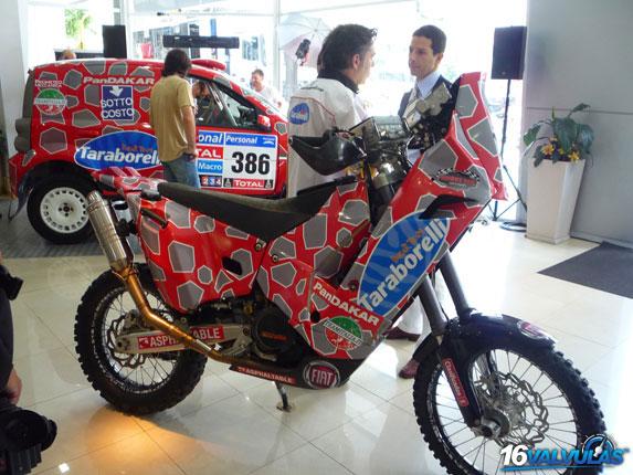 Equipos Taraborelli Dakar Team y PanDAKAR