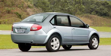 Nuevo Ford Ka Sedan