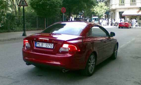 Volvo C70 Coupe Cabriolet