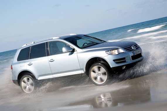 Volkswagen Touareg Bluemotion