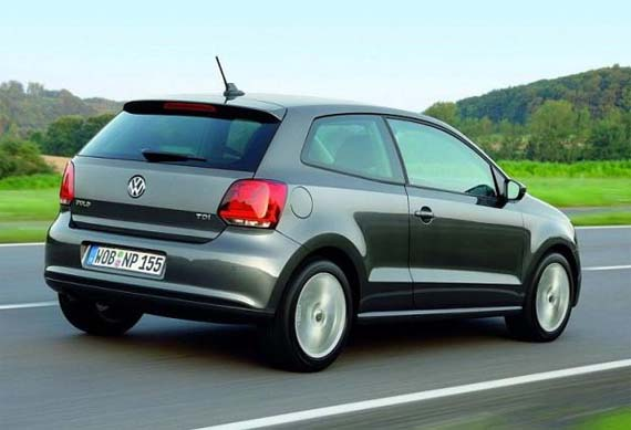 VW polo tres puertas