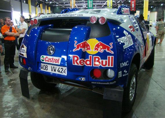 VW Toaureg Dakar 2010