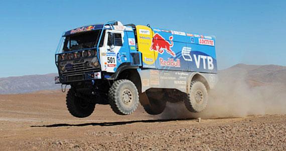 Camiones novena etapa Dakar 2010
