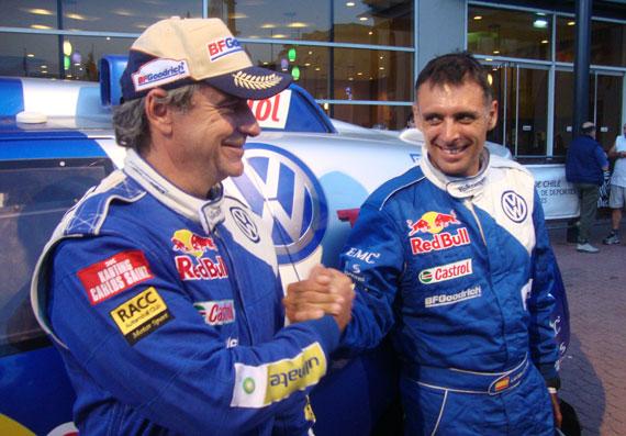 Carlos Sainz ganador Dakar 2010