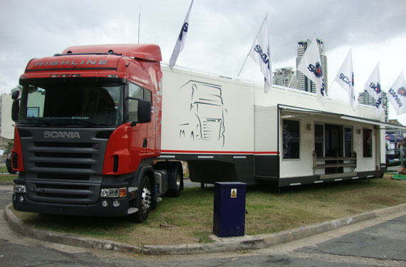 Stand Scania