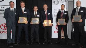 Toyota premió el desempeño de sus proveedores