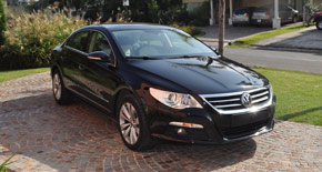Test Drive Volkswagen Passat CC