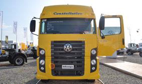 Volkswagen Camiones y Buses en Expoagro