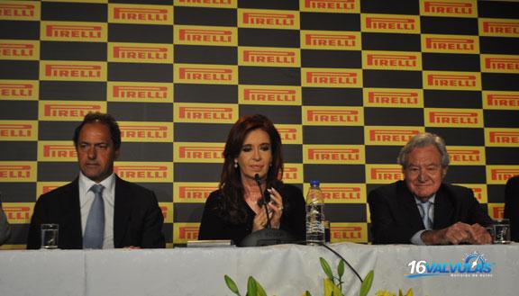 Pirelli inauguró la ampliación de su Planta de Merlo