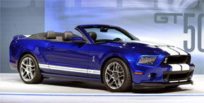 Mustang Shelby GT500 Cabrio