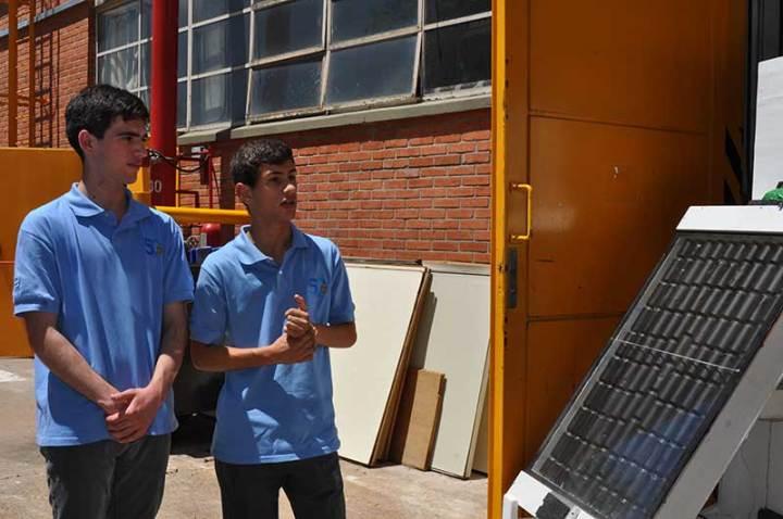 Proyecto de calefaccion solar para escuelar rurales