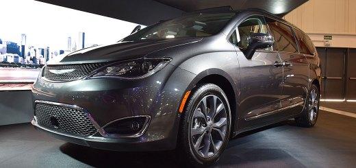 Chrysler Pacífica de 7 plazas