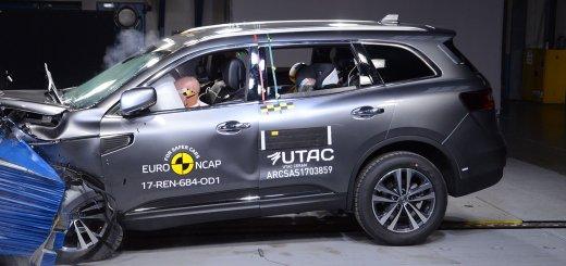 Renault Koleos 5 estrellas EuroNCAP
