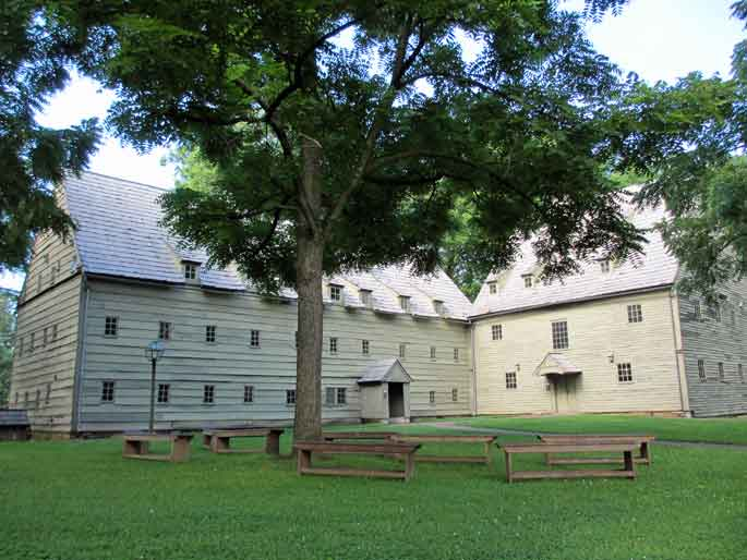 A trip to the historic Ephrata Cloister is one of many interesting things to do in Ephrata PA while you stay at the beautiful 1777 Americana Inn Bed and Breakfast.