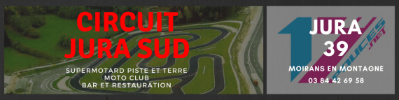 poucesPiste circuit supermotard france