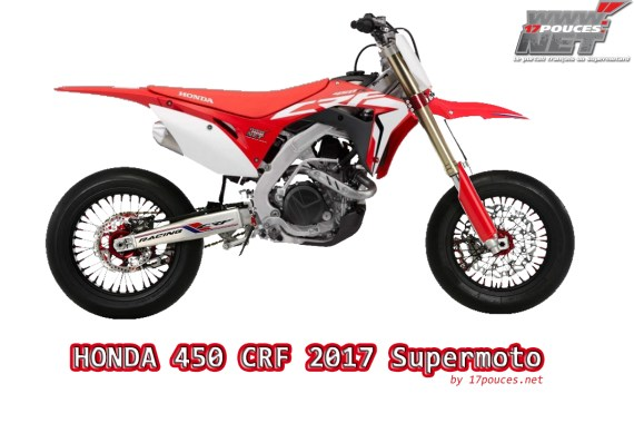 Honda CRF 2017 supermotard