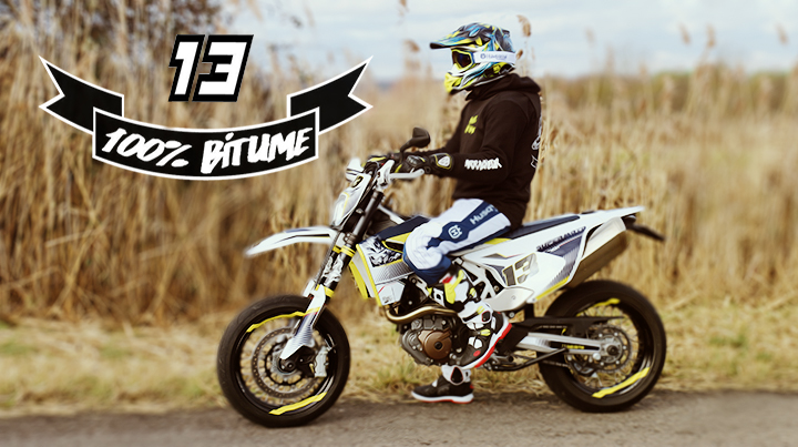 100% bitume video supermoto