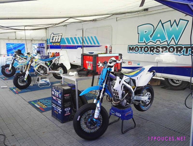 Loheac 2017 supermotard Raw motorsports