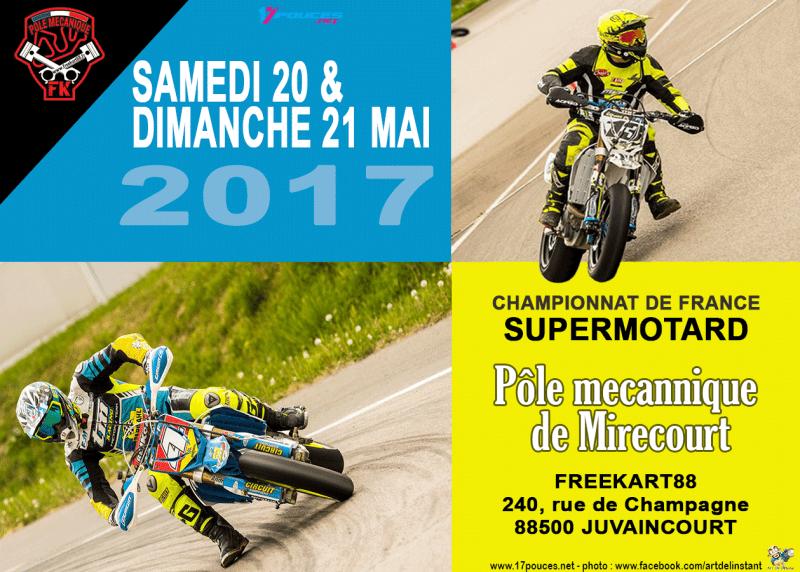 championnat de france supermotard 2017 mirecourt