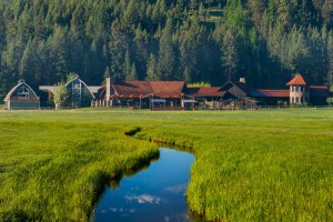 Big Sky, emerald pines and utter tranquility encourage guests to unplug and enjoy the resort's natural beauty.