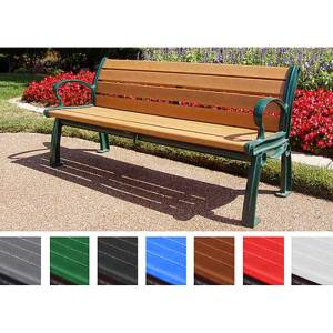 Heritage Outdoor Park Bench