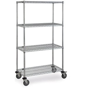Stainless Steel Tall Cart