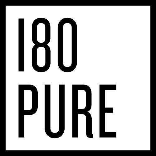 180 pure cbd logo