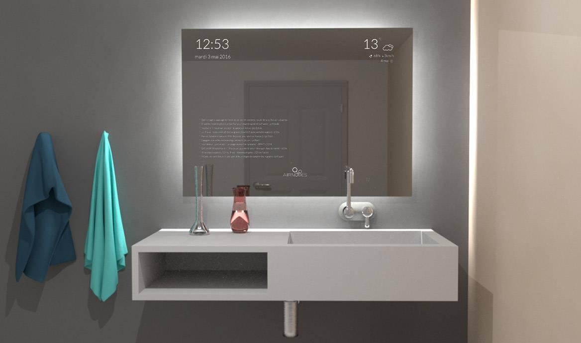 Anna Un Miroir Intelligent Et Futuriste