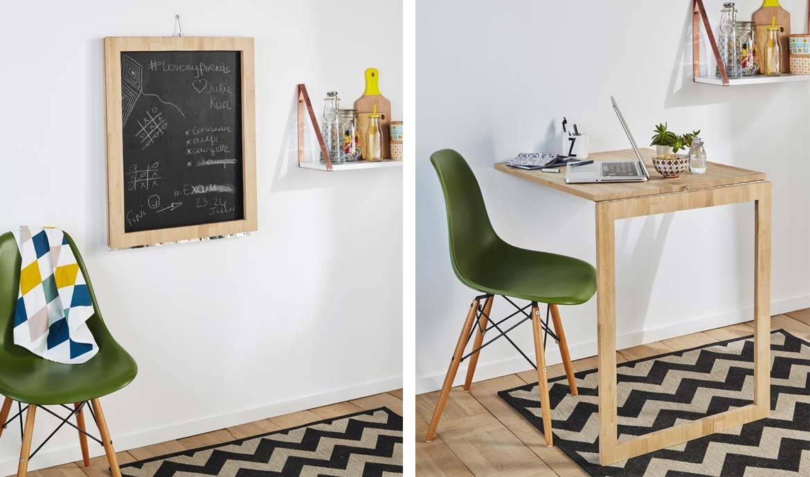 DIY Cette Table Dappoint Escamotable Se Transforme En