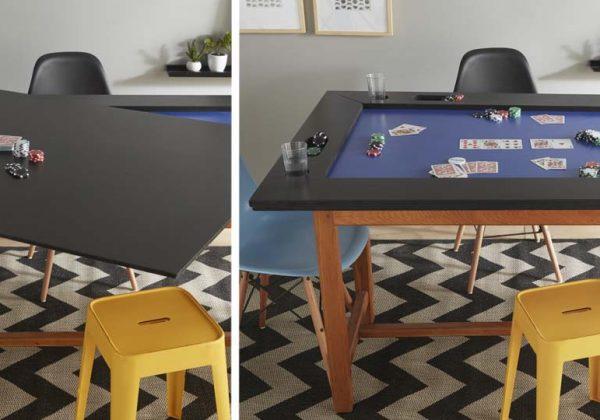 construire une table de poker pour des